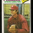 1977 Topps baseball card #110 Steve Carlton VG Philadelphia Phillies