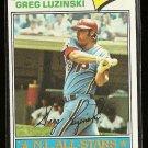 1977 Topps baseball card #30 (B) Greg Luzinski NM/M Philadelphia Phillies