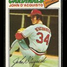 1977 Topps baseball card #19 (C) John D'Acquisto NM St. Louis cardinals