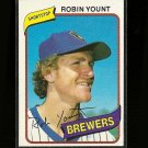 1980 Topps baseball card #265 NM/M Robin Yount Milwaukee Brewers