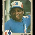 1983 Fleer baseball card #292 Tim Raines NM/M Montreal Expos