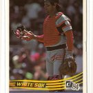1984 Donruss baseball card #302 Carlton Fisk EX Chicago White Sox