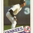 1985 Topps baseball card #665 Don Mattingly NM/M New York Yankees