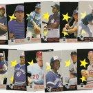 1987 Fleer baseball All-Star Team set #'s 1 - 12 all NM/M Mattingly, Schmidt, MORE!