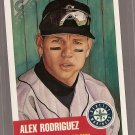 1999 Topps Heritage Gallery baseball card #TH7 Alex Rodriguez NM/M Seattle Mariners