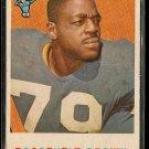 1959 Topps football card #114 Roosevelt Brown VG/EX New York Giants