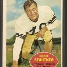 1960 Topps football card #101 Ernie Stautner NM/M Pittsburgh Steelers