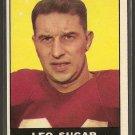 1961 Topps football card #119 Leo Sugar NM St. Louis Cardinals
