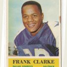 1964 Philadelphia (Philly) football card #44 Frank Clark VG/EX Dallas Cowboys