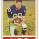 1964 Philadelphia (Philly) football card #1 (B) Ray Berry VG Baltimore Colts