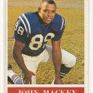 1964 Philadelphia (Philly) football card #3 John Mackey NM Baltimore Colts