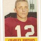 1964 Philadelphia (Philly) football card #174 (B) Charley Johnson NM/M St. Louis Cardinals