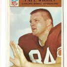 1966 Philadelphia (Philly) football card #51 Paul Wiggin VG (light crease) Cleveland Browns