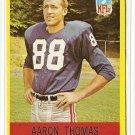 1967 Philadelphia (Philly) football card #119 Aaron Thomas EX/NM New York Giants