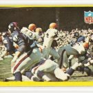 1967 Philadelphia (Philly) football card #193 (D) Cleveland Browns vs New Your Giants NM