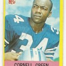1967 Philadelphia (Philly) football card #51 (C) Cornell Green EX/Nm Dallas Cowboys
