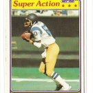 1981 Topps football card #524 Kellen Winslow Super Action VG