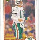 1991 Upper Deck football card #255 Dan Marino NM/M Miami Dolphins