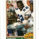 1991 Upper Deck football card #456 Emmitt Smith NM/M Team MVP