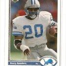 1991 Upper Deck football card #444 Barry Sanders NM/M detroit Lions