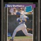 1989 Donruss baseball card #31 Gary Sheffield - Beckett graded 7 NM