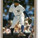 """2000 Topps JUMBO (3.25"""" x 4.5"""") baseball card #2 (B) Orlando Hernandez VG - dinged corner"""