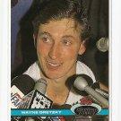 1991/92 Topps Stadium Club hockey card #1 Wayne Gretzky NM/M Los Angeles Kings