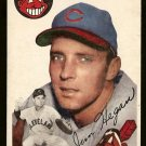 1954 Topps baseball card #29 Jim Hegan VG Cleveland Indians