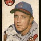 1954 Topps baseball card #29 (B) Jim Hegan Good condition Cleveland Indians