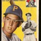 1954 Topps baseball card #11 (B) Paul Smith F/G Pittsburgh Pirates
