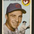 1954 Topps baseball card #60 Frank Baumholtz VG Chicago Cubs