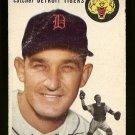 1954 Topps baseball card #88 Matt Batts VG Detroit Tigers