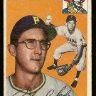 1954 Topps baseball card #84 Dick Cole VG Pittsburgh Pirates