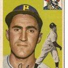 1954 Topps baseball card #161 John Hetki G/VG Pittsburgh Pirates