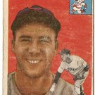 1954 Topps baseball card #162 Herman Wehmeier good condition Cincinnati Reds