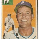 1954 Topps baseball card #168 Morrie Martin good condition Philadelphia Athletics