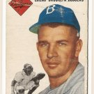 1954 Topps baseball card #209 Charlie Thompson G/VG Brooklyn Dodgers