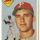 1954 Topps baseball card #196 Stan Jok G/VG Philadelphia Phillies