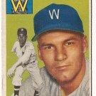 1954 Topps baseball card #185 (C) Chuck Stobbs VG Washington Senators