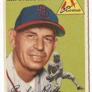 1954 Topps baseball card #237 Mike Ryba EX St. Louis cardinals