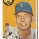 1954 Topps baseball card #238 Al Aber VG- Detroit Tigers