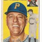 1954 Topps baseball card #213 Jerry Lynch VG/EX Pittsburgh Pirates