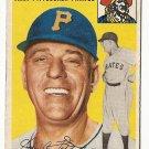 1954 Topps baseball card #213 (B) Jerry Lynch fair condition Pittsburgh Pirates