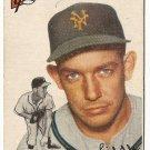 1954 Topps baseball card #225 Don Liddle VG New York Giants