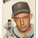1954 Topps baseball card #225 (B) Don Liddle VG New York Giants