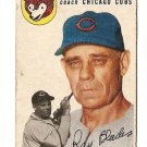 1954 Topps baseball card #243 Ray Blades good condition Chicago Cubs