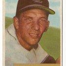1954 Bowman baseball card #30 (B) Del Rice G/VG