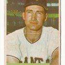 1954 Bowman baseball card #41 (B) Al Dark - good (creased across the middle)