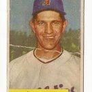 1954 Bowman baseball card #115 Don Bollweg G-
