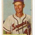 1954 Bowman baseball card #112 Andy Pafko VG+
